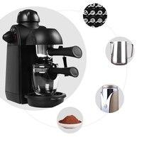 Кофе машина полуавтоматическая Итальянский Эспрессо молоко капучино Кофе Maker машина для домашнего включают Интимные аксессуары