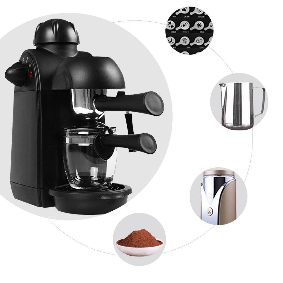 Coffee Machine Semi automatic Italian Espresso Maker Milk Maker Cappuccino Coffee Maker Machine For Home Include the Accessories