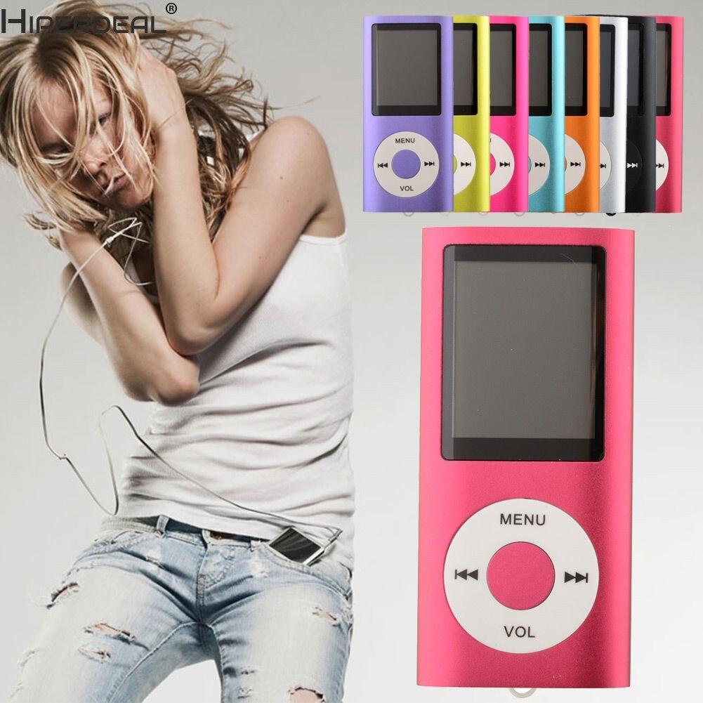 HIPERDEAL Mp3 Player 8-Colores 4th 1,8 pantalla de Video de Radio de música, reproductor SD/TF CardHW
