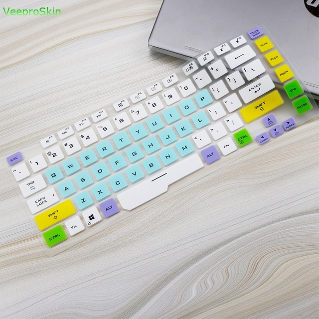 Silikonowa klawiatura do laptopa obudowa ochronna skóry dla asus rog Strix G G531 15 G531G G531GU G531GD G531GT G531GW 15.6 cal Notebook