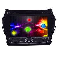 GPS Stereo Android 4.4 Radio FM 2 din Touchscreen Auto Dvd-speler Tablet Head Unit Bluetooth Systeem Navigatie Voor Hyundai IX45