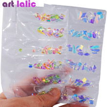 1 Pack AB Glass Nail Rhinestones Diamond Teardrop Horse Eye Crystals Stones Shiny Gems Manicure Nails Art Decorations(China)
