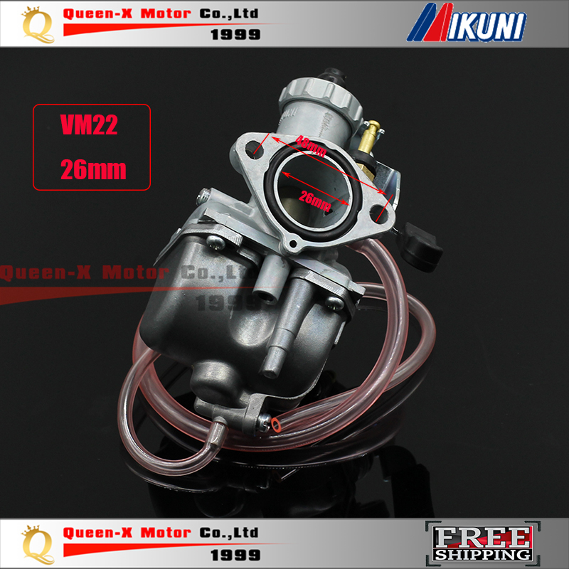 Atv,rv,boat & Other Vehicle Mikuni High Performance Vm22 Pz26 26mm Carburetor Carb For Motorcycle Dirt Pit Bike Atv Quad 110cc 125cc140cc Motocross High Quality
