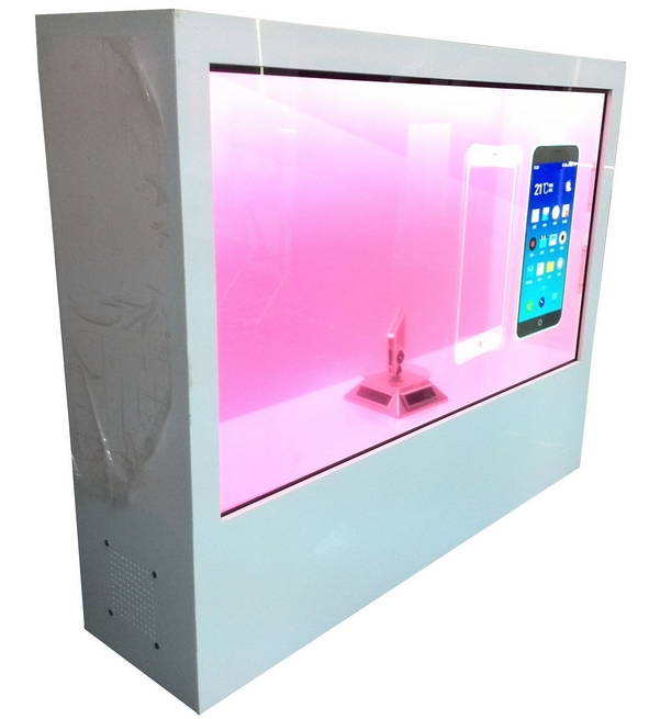 TFT HD HDMI LCD Touch Screen Hot Selling Popular Transparent Glass Led Transparent Display