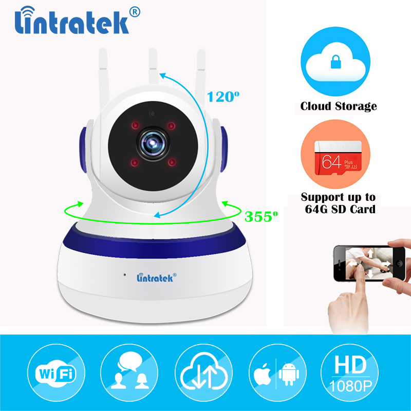 HD1080P WiFi CCTV IP Camera Wireless Mini Wi Fi Camera Cloud Storage Surveillance PTZ Security Camara