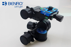 Image 2 - Benro Pro 3 Way Geared Gear Drive Tripod Head   GD3WH