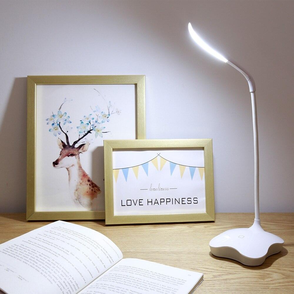 Lightme llevaron 3 Niveles Ajustable LED Lámpara de Mesa USB Lámpara de Escritorio de Cabecera Sensor Auto 14 LEDs LED Luz del Escritorio Para la Oficina En Casa 2017 caliente