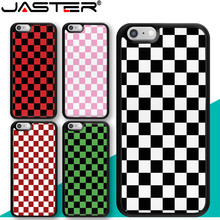 JASTER Checkerboard Plaid Checked Checkered Phone Case for
