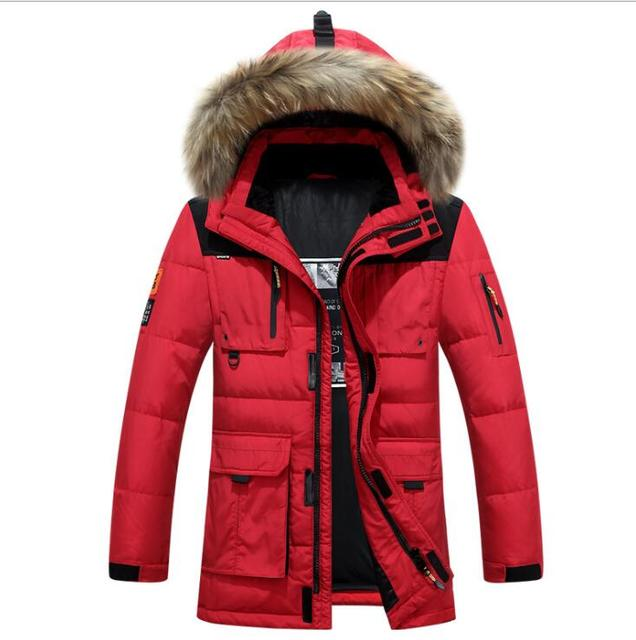 a7ae08ae3 US $90.21 25% OFF|High Quality 2018 Brand Clothing Men Down Jacket Winter  parka men's warm thick coat viishow ice winter canada goode jacket -in Down  ...