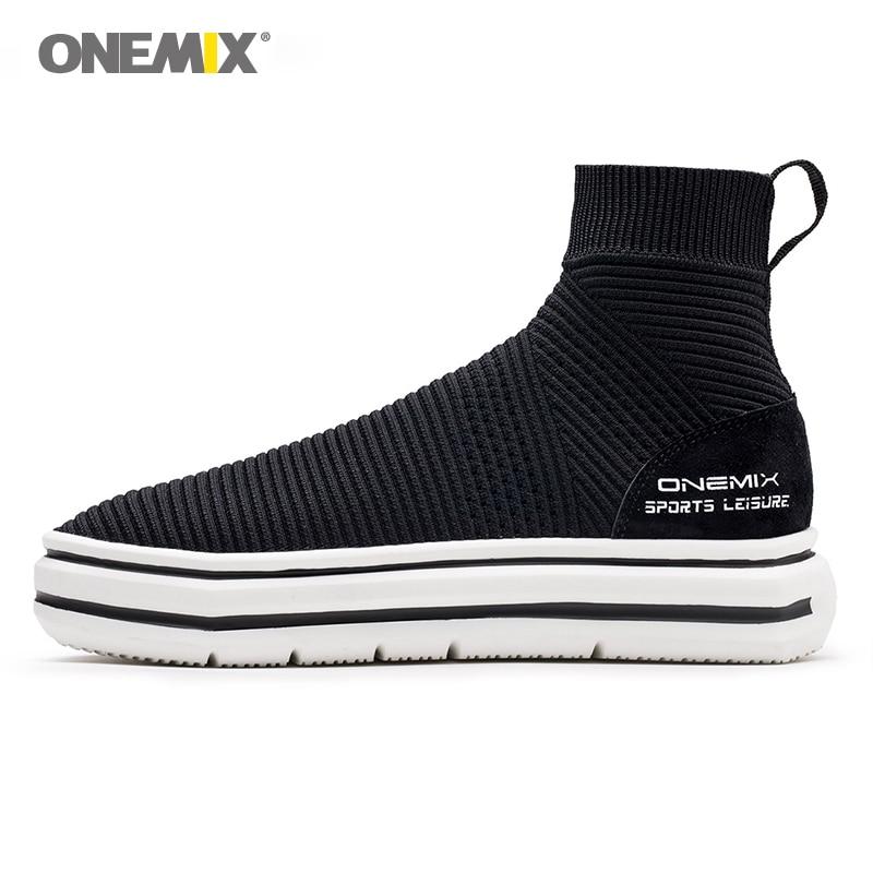 """""""Onemix"""" kojinių batų batai vyrams, didinantys vaikščiojimo batus moterims, lauko kelionėms, sportui, batai, rudeninė žiema, šilti batai1301"""