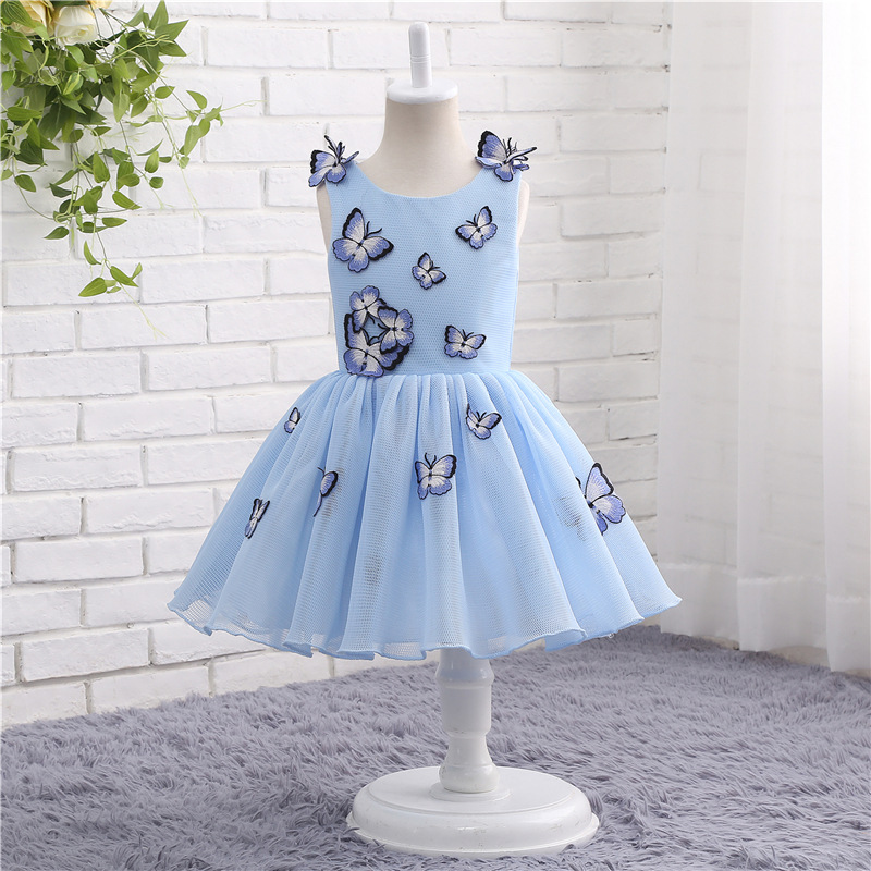 New Arrival   Flower     girls     dresses   for weddings first communion   dresses   for   girls   kids Party   dresses   Dauther Evening   dress