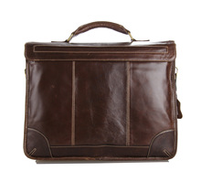 PASTE New Classic Vintage Leather Men s Chocolate Briefcase Laptop Bag Messenger Handbag Hot Selling Jmd