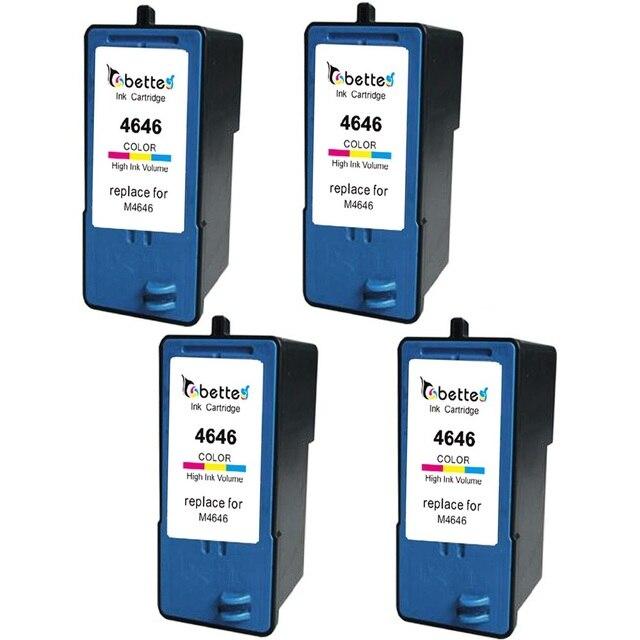 4 Packs High Quality Ink Printer Inkjet Cartridges For Dell M4646