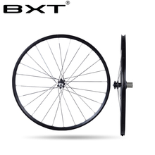Chinese alloy mtb wheelset  29er 27.5er Six Holes Disc Brake  aluminum rims bike Wheel CR 24H 11 Speed Support  bicycle Wheels