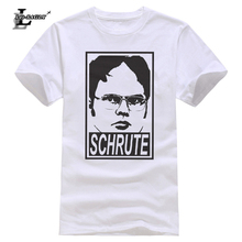 88670bf2 Lei-SAGLY The Office Dwight Schrute Tv Series Man Graphic Print T Shirt  Short Sleeve