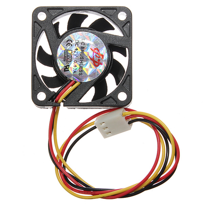 40x40x10mm CPU Cooling Fan 3 Pin 12V 0.1A Heatsink Cooled Cooler CPU Cooling Fan For PC Computer Wholesale