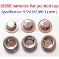 18650 литиевая батарея анодных сварочная cap может быть колпаке 18650 батареи вместо плоского указал шляпу