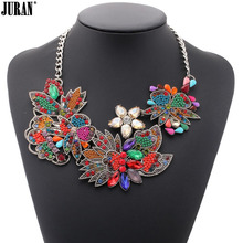 butterfly and flower design women fashion statement chokers necklaces luxury Fashion Jewelry Valentine's Day gift free shipping