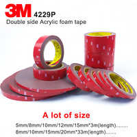 3M double sided acrylic foam acrylic adhesive 3M tape 4229p,Dark Gray, thickness 0.8mm, automotive 3M tape, A lot of Size