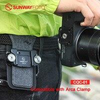 SUNWAYFOTO CQC 01 Camera Accessories Strap Quick Release Dslr Shoulder Strap Clips Plate Compatible Peak Design