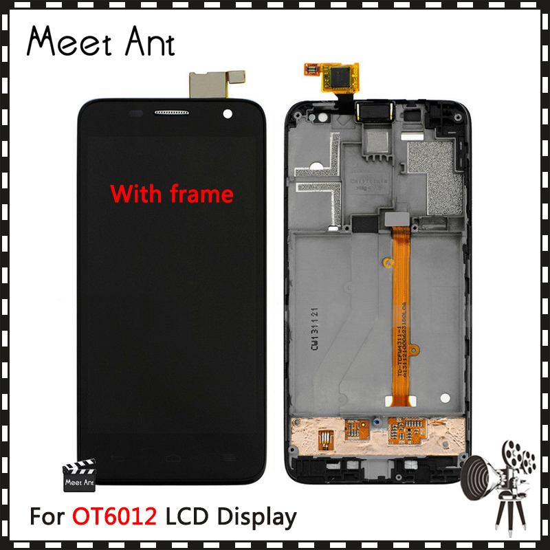 """High Quality 4.3"""" For Alcatel One Touch Idol Mini 6012 OT6012 6012D LCD Display Screen With Touch Screen Digitizer Assembly"""