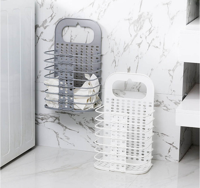 Folding Laundry Basket Dirty Clothes Storage Washing Bag Hamper Home Organizer drop shipping new products selling well
