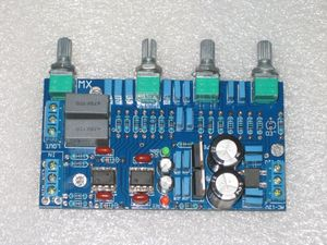 Image 3 - Fannyda NE5532 HIFI プリアンプボードトーンボード PCB 空のボード