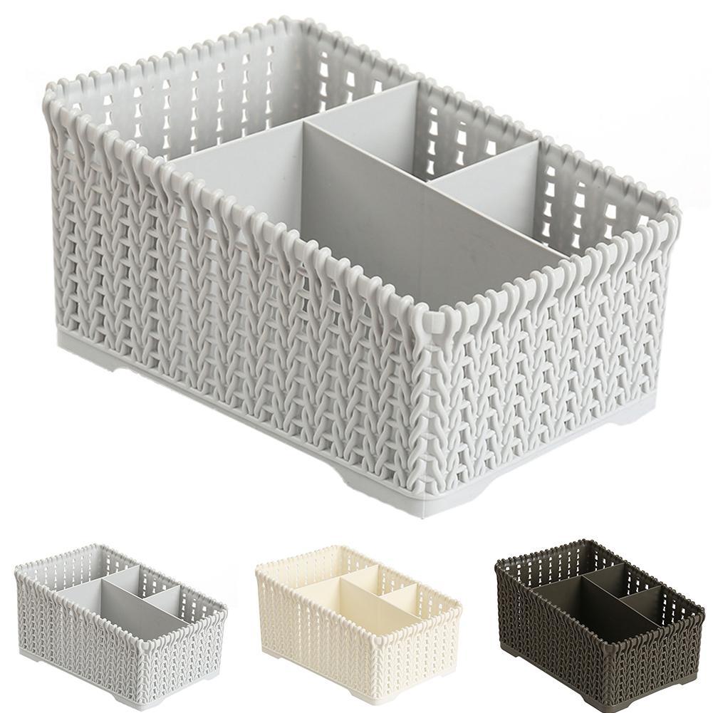 Cotton thread Storage basket Sundries Clothes Holder Container Bathroom