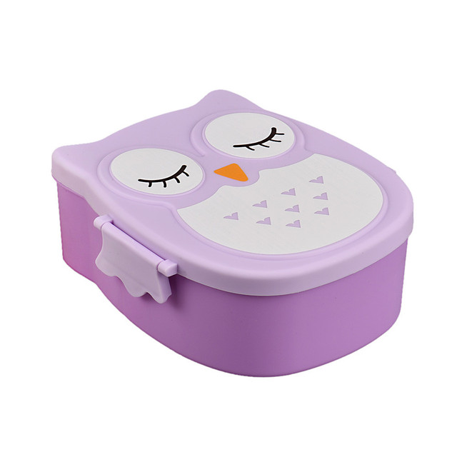 Owl Shaped Lunch Box for Kids