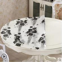 2017 neue PASAYIONE Round Table Cloth Overlays Dekorative Wasserdicht Tischläufer Abdeckung Für Esstisch Manteles Para Toalha De
