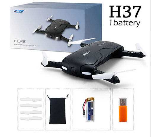 JJRC H37 ELFIE Selfie Drone WiFi FPV RC Dron Quadcopter Mini Drone RC Drones with Camera HD Professional RC Helicopter Gift