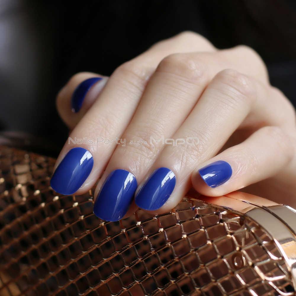 24 pièces nouveau produit sourcils ventes couleur nue faux ongles bleu long rose rouge ovale tête faux ongles rose bonbon couleur gris ensemble complet violet