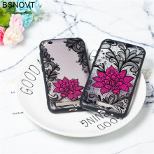 For Xiaomi Redmi 5A Case TPU +PC Lace Rose Flower Anti-knock Case For Xiaomi Redmi 5A Cover For Xiaomi Redmi 5A Funda BSNOVT цена и фото