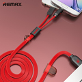 Remax 2A Fast Charge Phone Cable Micro USB 8 Pin iOS9 2 in 1 Charging Wire Cord With Magnet For iPhone iPad For Samsung Xiaomi