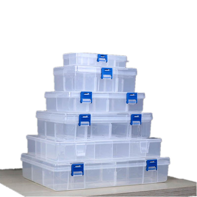 Werkzeugkästen Initiative Praktische Kunststoff Werkzeug Box Multi-funktionale Koffer Nail Art Storag Container Für Elektronische Teile Schrauben Werkzeug Box Lagerung Husten Heilen Und Auswurf Erleichtern Und Heiserkeit Lindern Werkzeuge