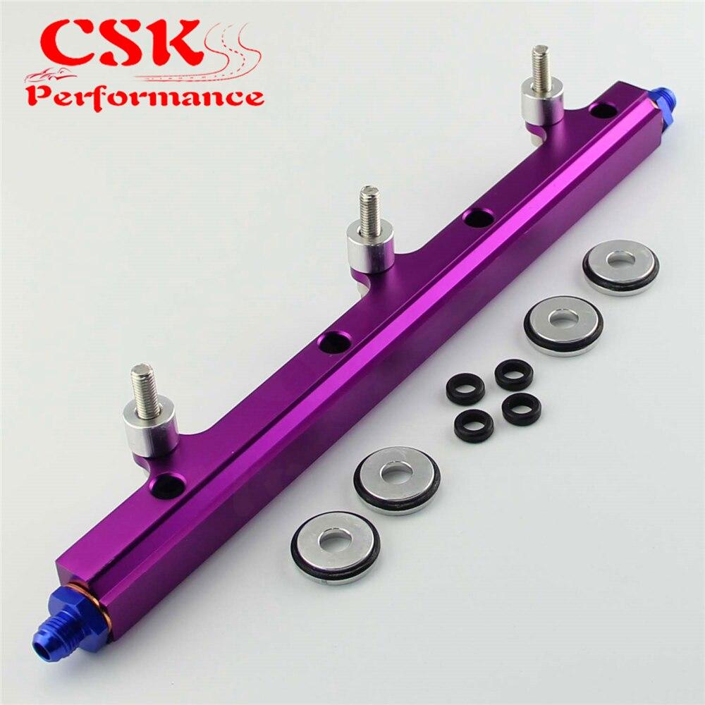 Aluminum Fuel High Flow Injector Rail Fit For Civic EG EK B16 B18 B16a B18a B16b