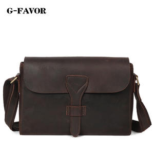 04adfc28459d G-FAVOR Crazy Horse Leather Genuine Leather Crossbody Bag