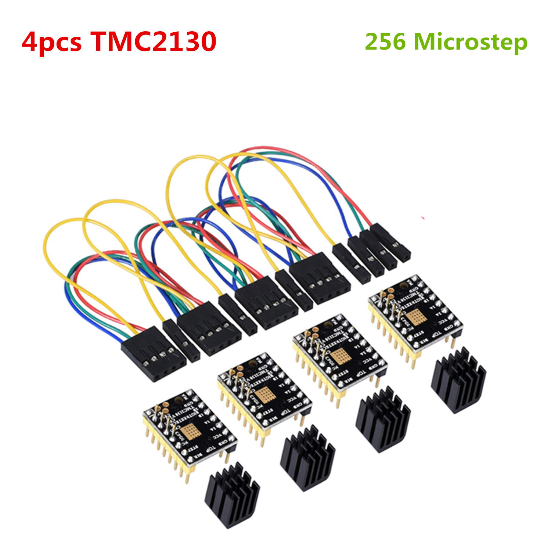 TMC2130 SPI Stepper Motor Stepstick Step Driver TMC 2130 Stepping Driver Controller For BIQU BIGTREETECH SKR V1.3 Mainboard