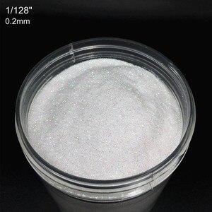 Image 2 - 1 caixa 10 gramas iridescente ab naill glitter 0.2/0.4/1mm holográfico arte do prego brilhos pó acrílico pó uv gel polonês FPA 101 #