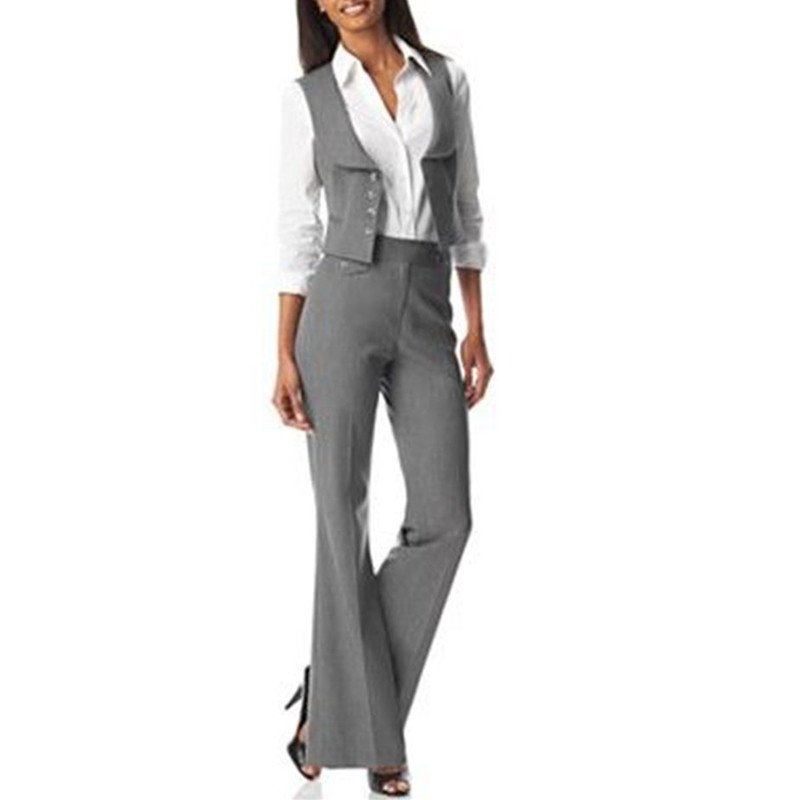 800249985a5 Detail Feedback Questions about NEW2019 womens formal wear pantsuits  Fashion Women Ladies Custom Made 2 Piece Vest+Pants Tuxedos Business Suits  on ...