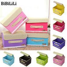 ФОТО storage racks and basket spinning cloth folding cover storage box with handle storage box finishing clothing wholesale