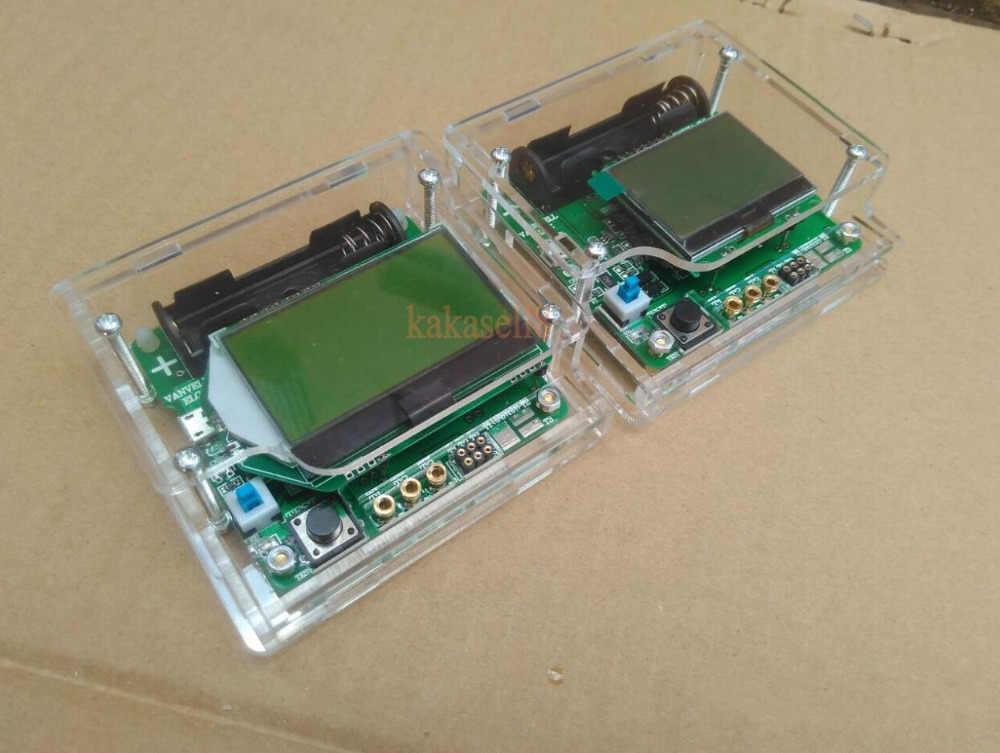 Transparan Shell untuk ESR Meter Mega328 Digital Combo Transistor Tester Dioda Triode Induktor Kapasitansi Resistor MOS/PNP/NPN