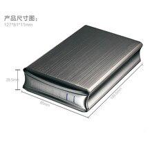 External USB3.0 HDD Cover Case 2.5″inch SATA HDD Enclosure Hard Drive Disk Storage Two SATA To USB3.0/JM561U (UASP 6G) Aluminium