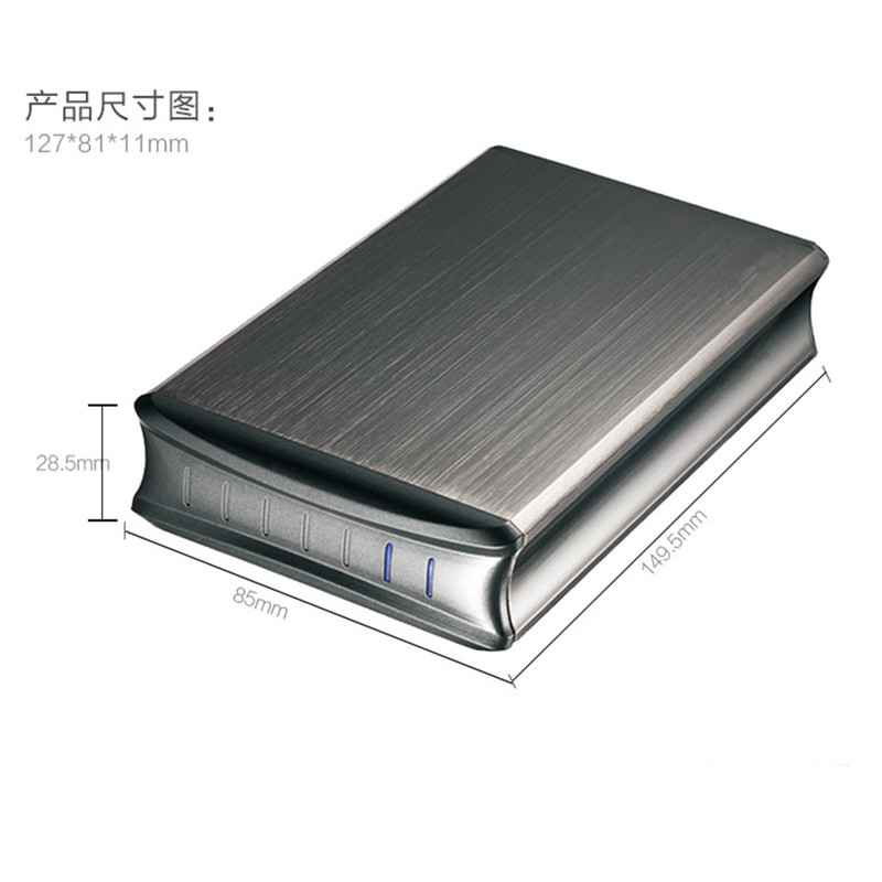 External USB3 0 HDD Cover Case 2 5 inch SATA HDD Enclosure Hard Drive font b