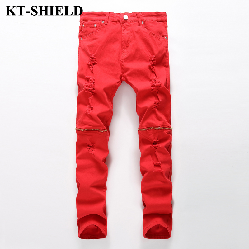Popular Red Skinny Jeans for Men-Buy Cheap Red Skinny Jeans for ...