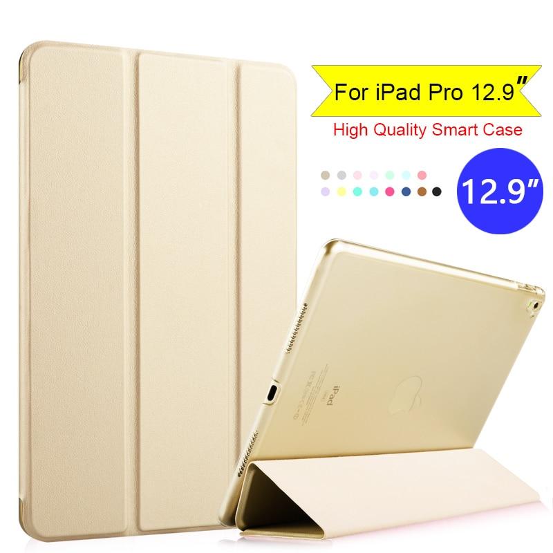 עבור Apple iPad Pro 12.9 אינץ '2016 Flip Folio Tablet חכם - עזרים לטאבלט