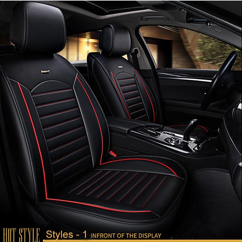 Universal Eco-Leather Set Car Seat Covers for MAZDA 2 MAZDA 3 MAZDA 121