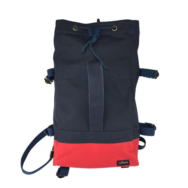 Tourbon Bike Cycling Pannier Bag Hiking Climbing Rucksack Saddle Canvas Saddle Backpack Leisure Daily Bag Wholesale