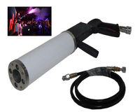 Jet led co2 gun Pro stage effect handheld night club bar dj equipment Fogger Smoke Gun C02 Cryo Jet