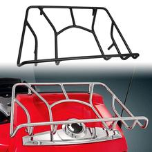 Motorcycle Tubular Top Luggage Rack Tour Pak Carrier Trunk For Can Am Spyder RT / RTS Limited (#41-155) All Year